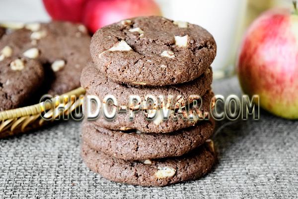 Рецепт печенье с кусочками шоколада