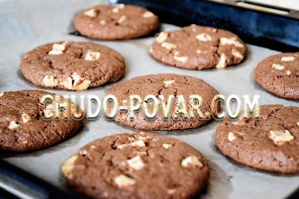 Шоколадное печенье: простой рецепт