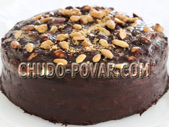 шоколадный торт сникерс рецепт сникерс с фото