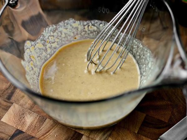 Соус для салата Цезарь пошаговый рецепт с фото в домашних условиях