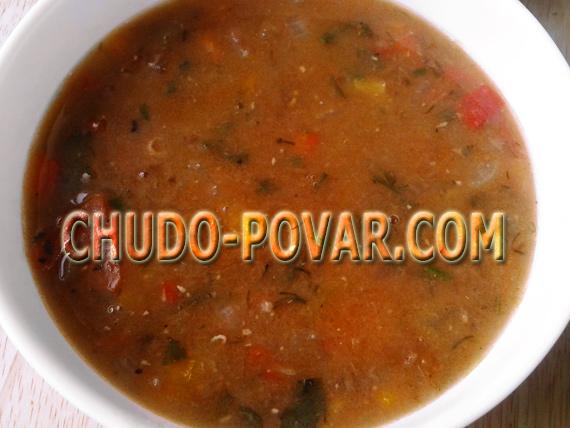 Суп из чечевицы рецепт с фото