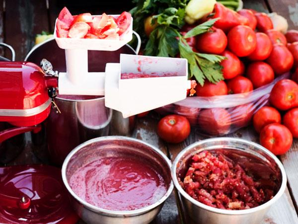 Томатный сок на зиму через мясорубку пошаговый рецепт с фото