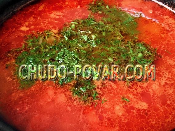 томатный суп рецепт с фото