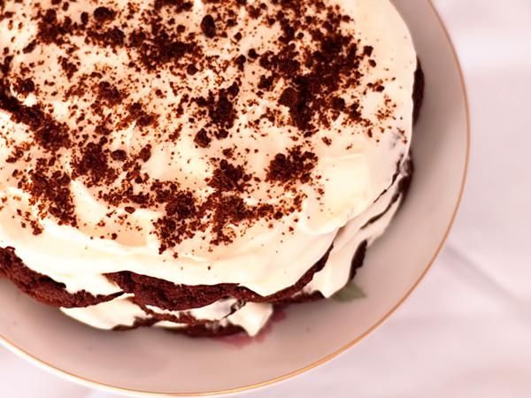 Рецепт торта шоколадная Черепаха со сметанным кремом