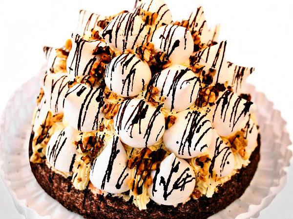 Торт Графские развалины: рецепт со сгущёнкой | Чудо-Повар