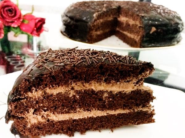 Классический рецепт торта Прага на сметане