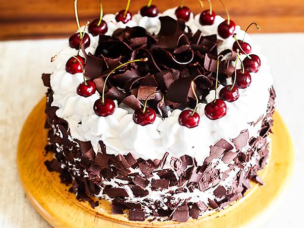 Торт Пьяная вишня простой рецепт
