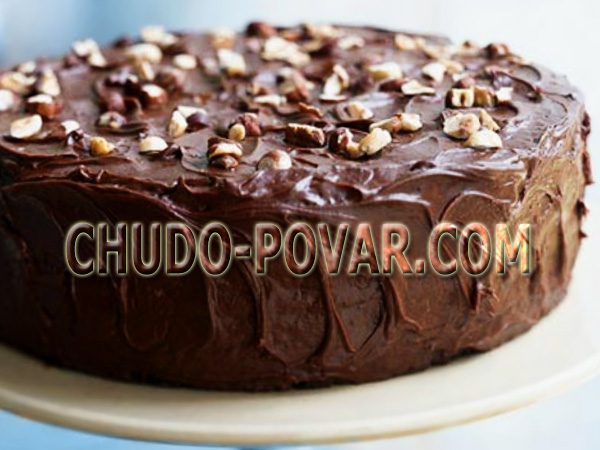 Торт сметанник простой рецепт с фото