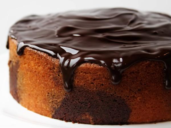 Торт Зебра простой рецепт с фото
