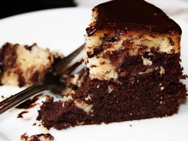 Торт Зебра рецепт на сметане с фото