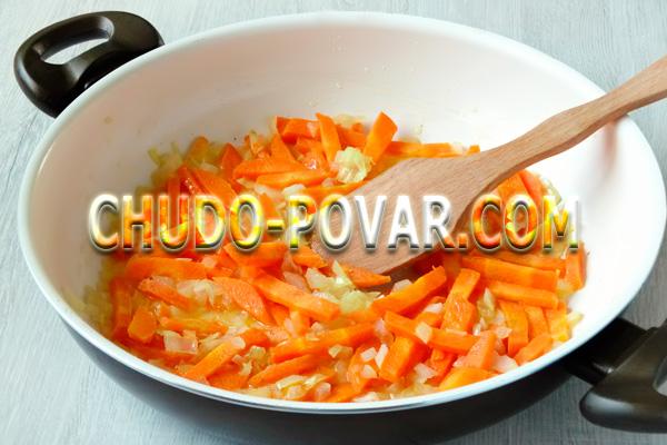 Свинина тушёная с картошкой и овощами