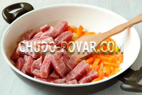 Тушёная свинина рецепт с картошкой