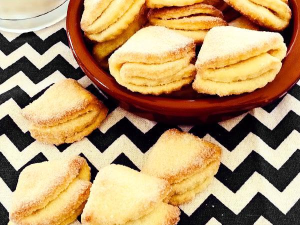 Творожное печенье Конвертики