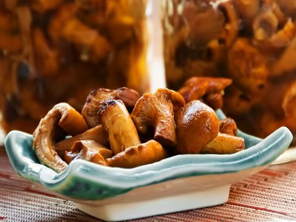 Маринуем грибы на зиму