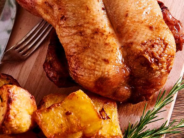 утка в духовке с картошкой рецепт