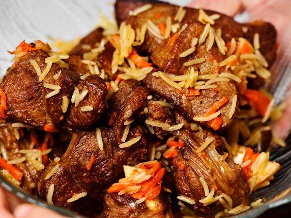 Узбекский плов рецепт с фото пошагово