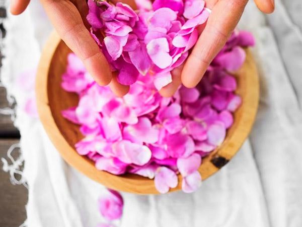Варенье из лепестков чайной розы шаг 1