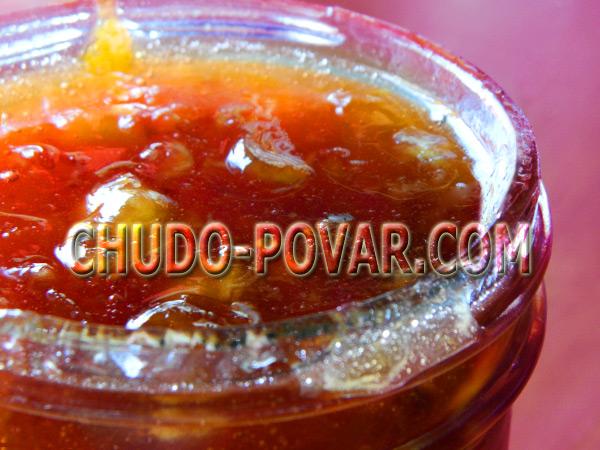 варенье из тыквы рецепт с фото