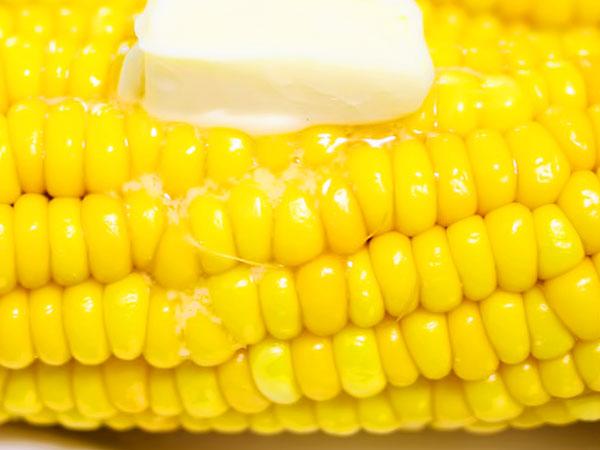 Вкусная варёная кукуруза
