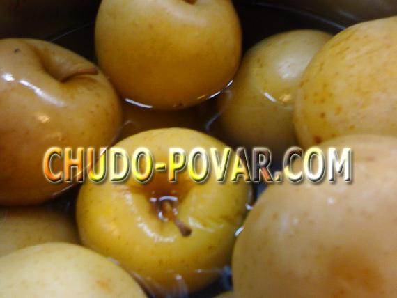 Яблоки моченые рецепт с фото
