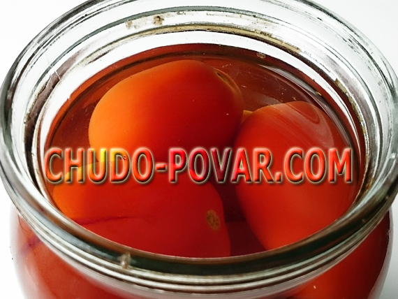 Закатка помидоров на зиму рецепт с фото