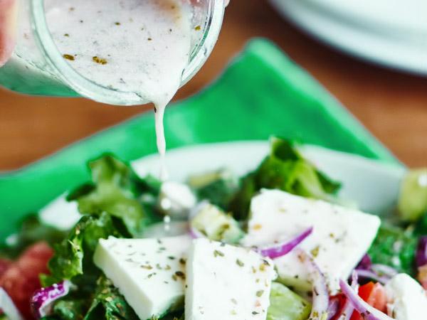 Заправка для греческого салата рецепт с фото пошагово