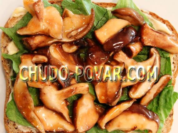 жареные грибы на зиму рецепт с фото
