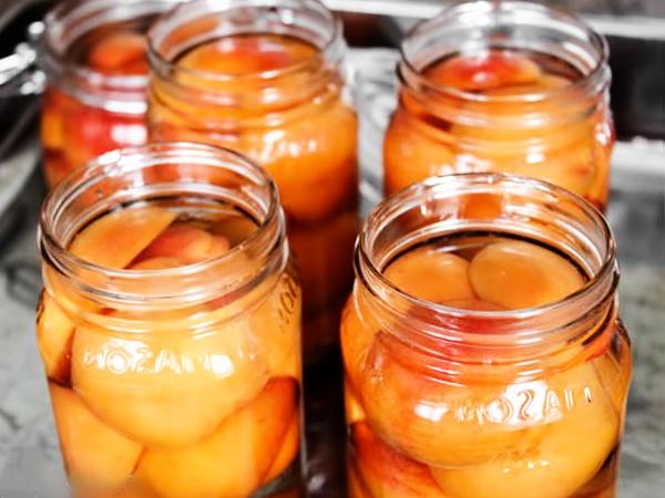абрикосы дольками в сиропе
