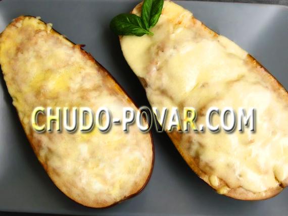 баклажаны запеченные в духовке рецепт с фото