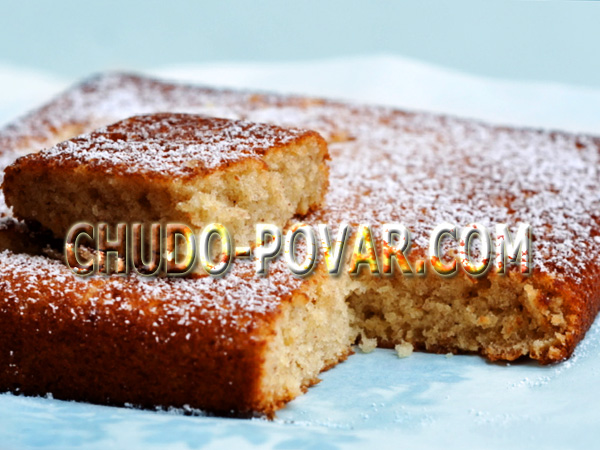 банановый пирог в духовке рецепт с карамелью