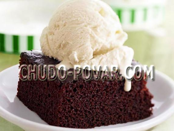 масляный шоколадный бисквит рецепт с фото