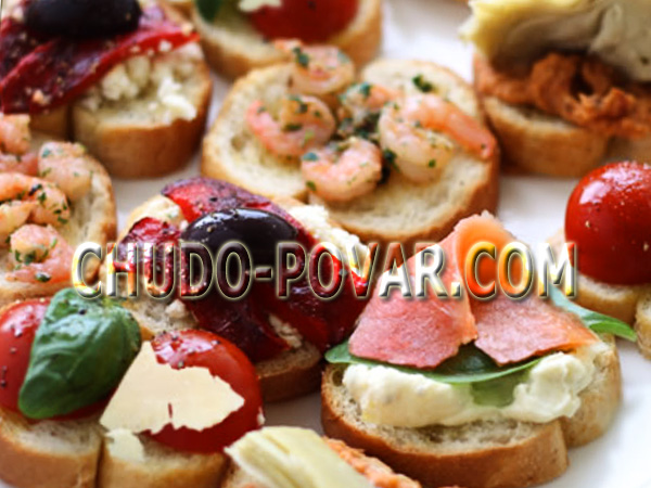 бутерброды на праздничный стол с фото