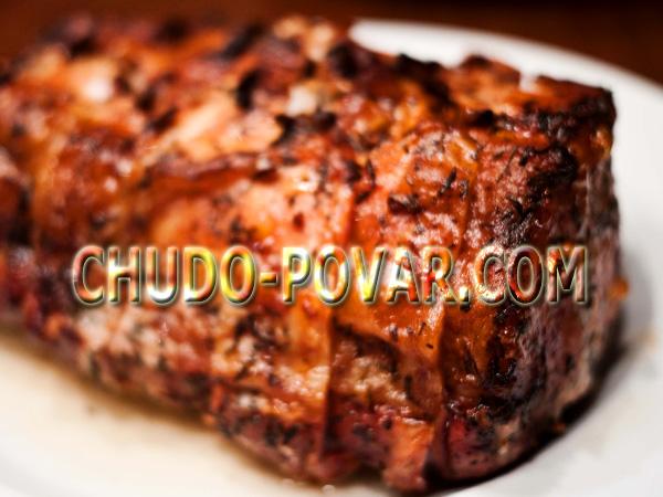 буженина из говядина в мультиварке рецепты с фото