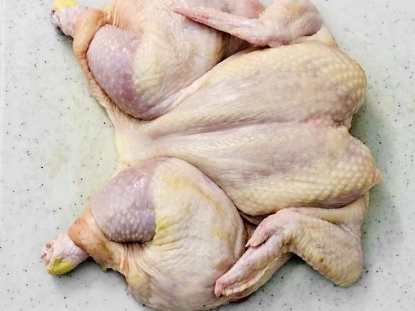 фото приготовления цыплёнок табака в духовке рецепт шаг 2