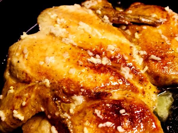 фото приготовления цыплёнок табака в духовке рецепт шаг 5