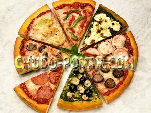 Для пиццы безопарное дрожжевое тесто
