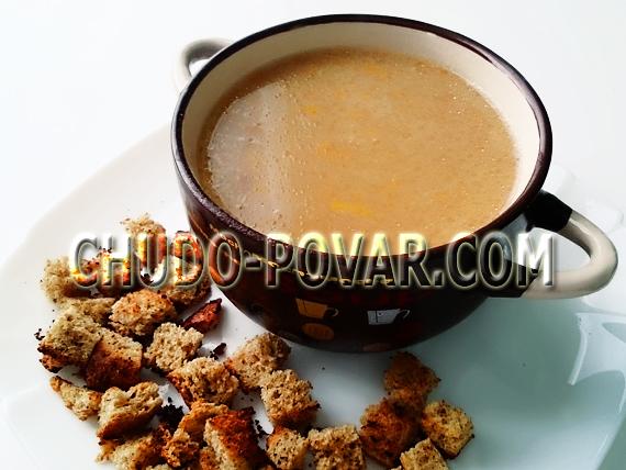 гороховый суп пюре рецепт с фото