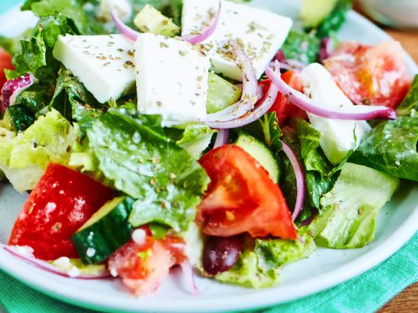 классический греческий салат фото