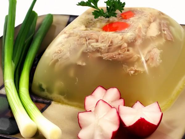 фото приготовления свиной холодец из ножек с говядиной рецепт