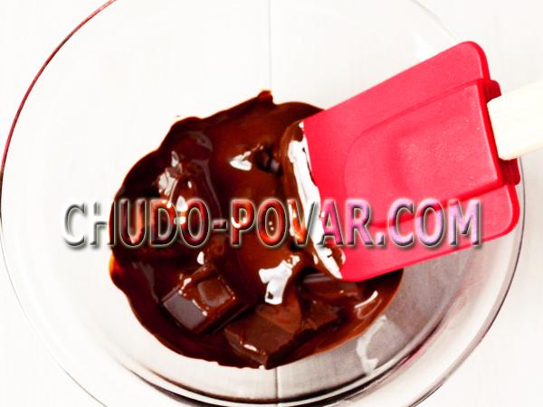 Как растопить шоколад в микроволновке рецепт с фото