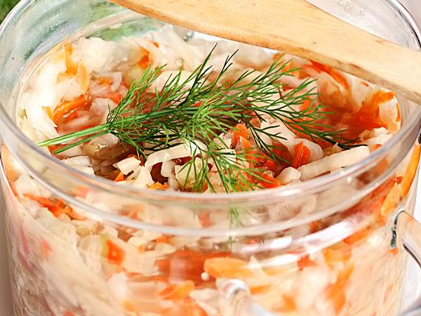 Маринованная вкусная капуста рецепты с фото