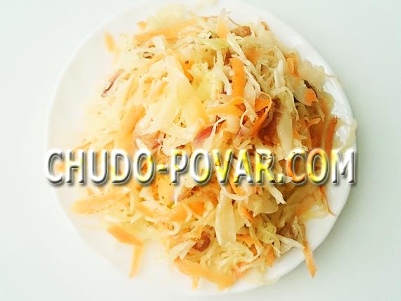 капуста по корейски рецепт с фото