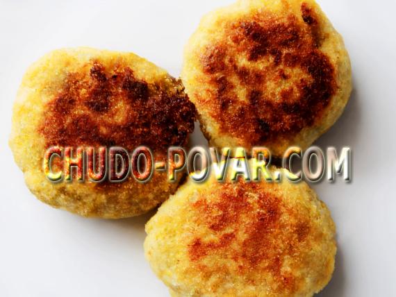 картофельные котлеты рецепт с фото