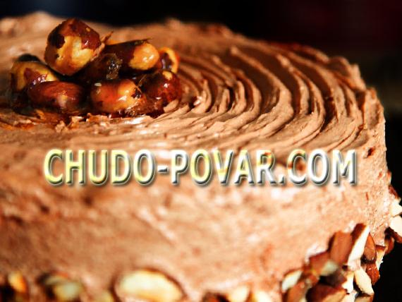 киевский торт рецепт с фото