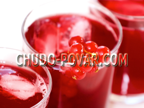 компот из красной смородины рецепт с фото