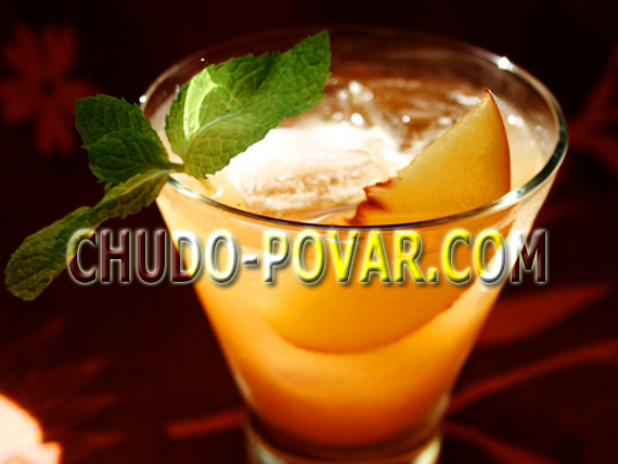 компот из персиков рецепт с фото
