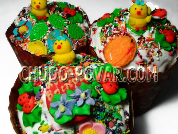 самый вкусный кекс рецепт фото
