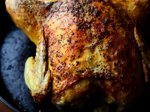 рецепт курицы в духовке целиком с корочкой с фото
