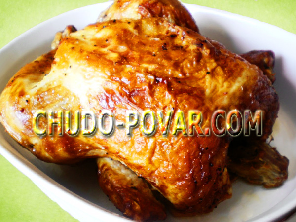 запеченная курица с лимоном в духовке простой рецепт