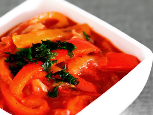 Лечо рецепт с сосисками